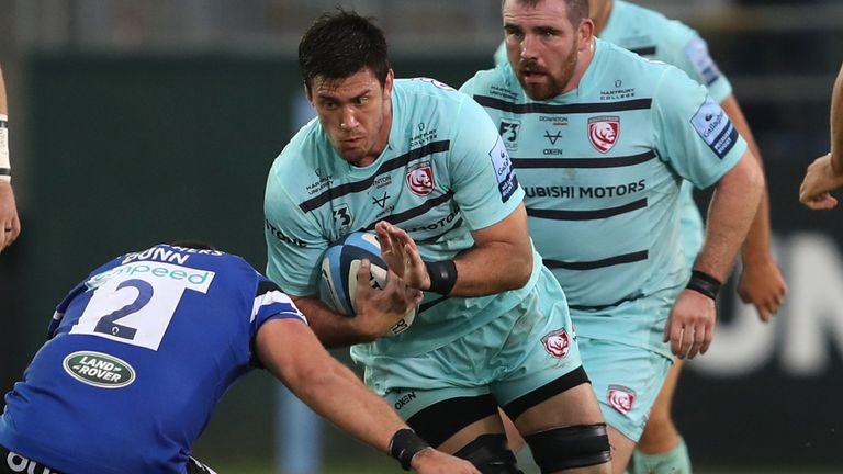 Argentina second row Matias Alemanno comes in as one of three Gloucester changes