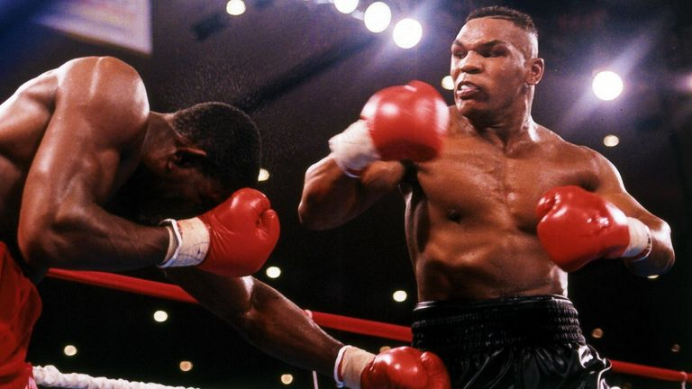 Tyson twice knocked out Bruno