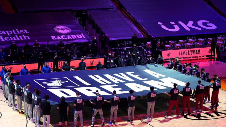 Shaquille O'Neal, Kenny Smith, Ernie Johnson Jr. and Charles Barkley take a look at how the NBA honours the life and legacy of Dr Martin Luther King Jr