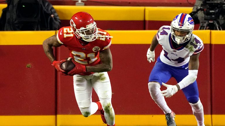 Highlights of the Buffalo Bills against the Kansas City Chiefs in the AFC Championship Game