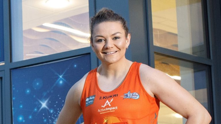 Nia Jones will be an Active Impact ambassador and will be leading fundraising efforts throughout the season alongside Paige Reed (Image Credit: Paul Groom)