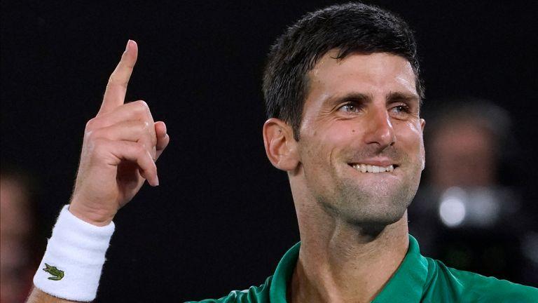 Djokovic already gave Kenin advice before last year's finals weekend