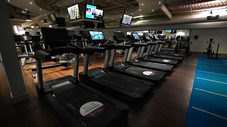 Gyms are no longer able to ppen for business under new restrictions announced by the Government on Monday