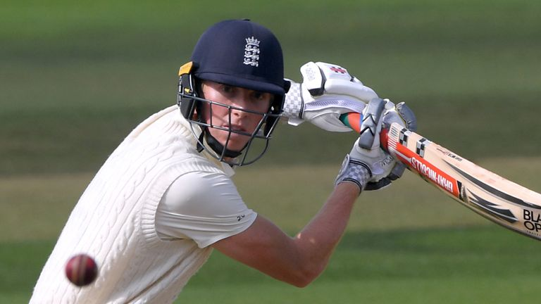 Zak Crawley is determined to prove he is not a 'one-hit wonder- after his double century against Pakistan last summer