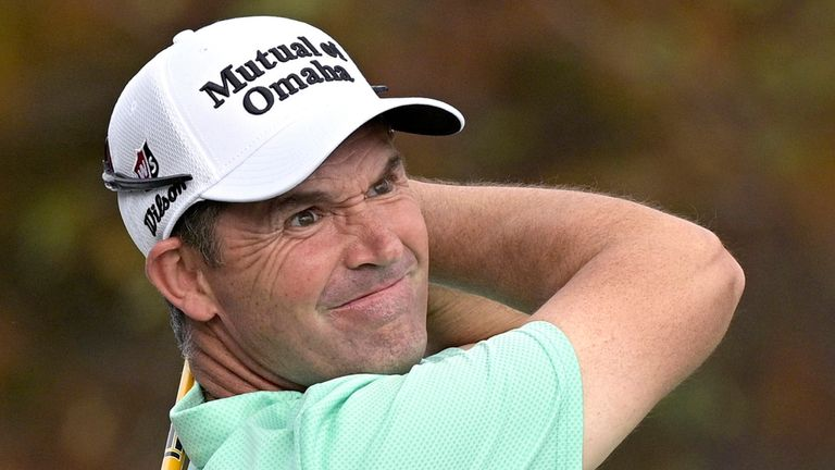 Padraig Harrington, is out of the Pebble Beach Pro-Am after testing positive for COVID-19