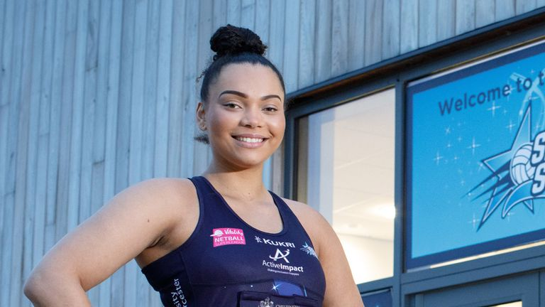 Severn Stars are announcing a new and unique partnership for the 2021 Vitality Netball Superleague season (Image Credit: Paul Groom)