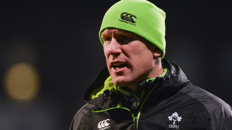 O'Connell took up the post of forwards coach in Andy Farrell's coaching team in January 2021