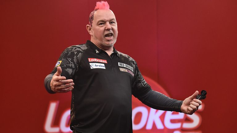 Peter Wright will take on Dave Chisnall in the quarter-finals