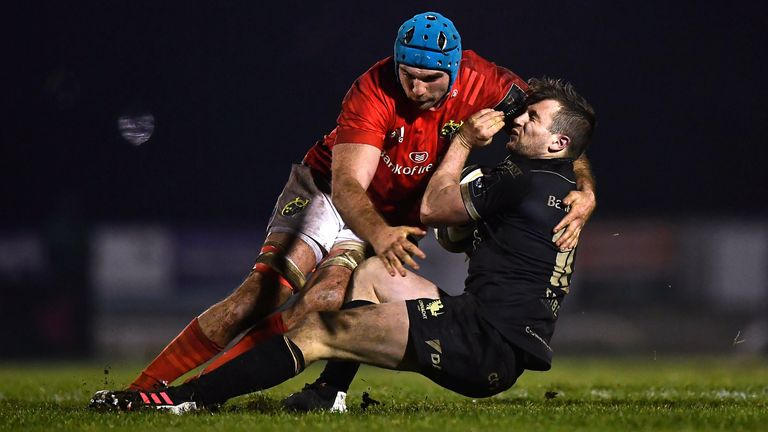 Tadhg Beirne put in a strong display for Munster in their win over Connacht
