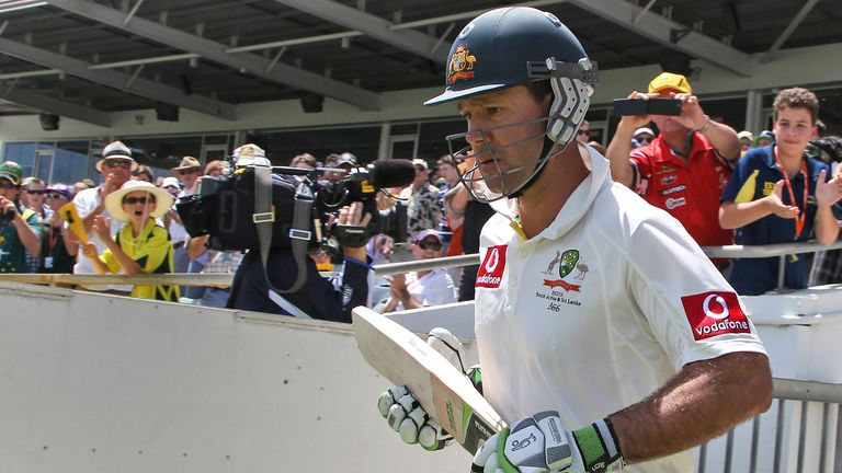 Ricky Ponting was Zak's batting hero growing up
