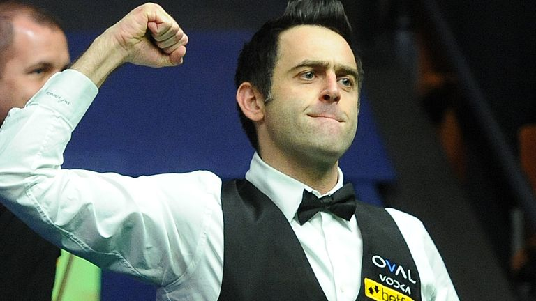 Ronnie O'Sullivan is the reigning snooker world champion, having won the event for a sixth time in 2020