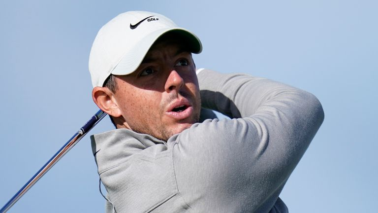 Rory McIlroy was involved in a rules incident on day three at Torrey Pines