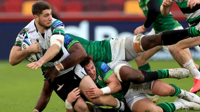 Newcastle rallied late on but left London without a losing bonus point