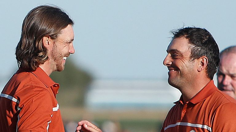 Tommy Fleetwood won all four of his matches alongside Francesco Molinari at Le Golf National