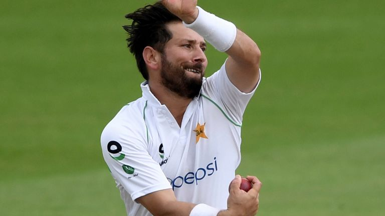 Yasir Shah (pictured) could be joined in the Pakistan team by fellow spinner Sajid Khan