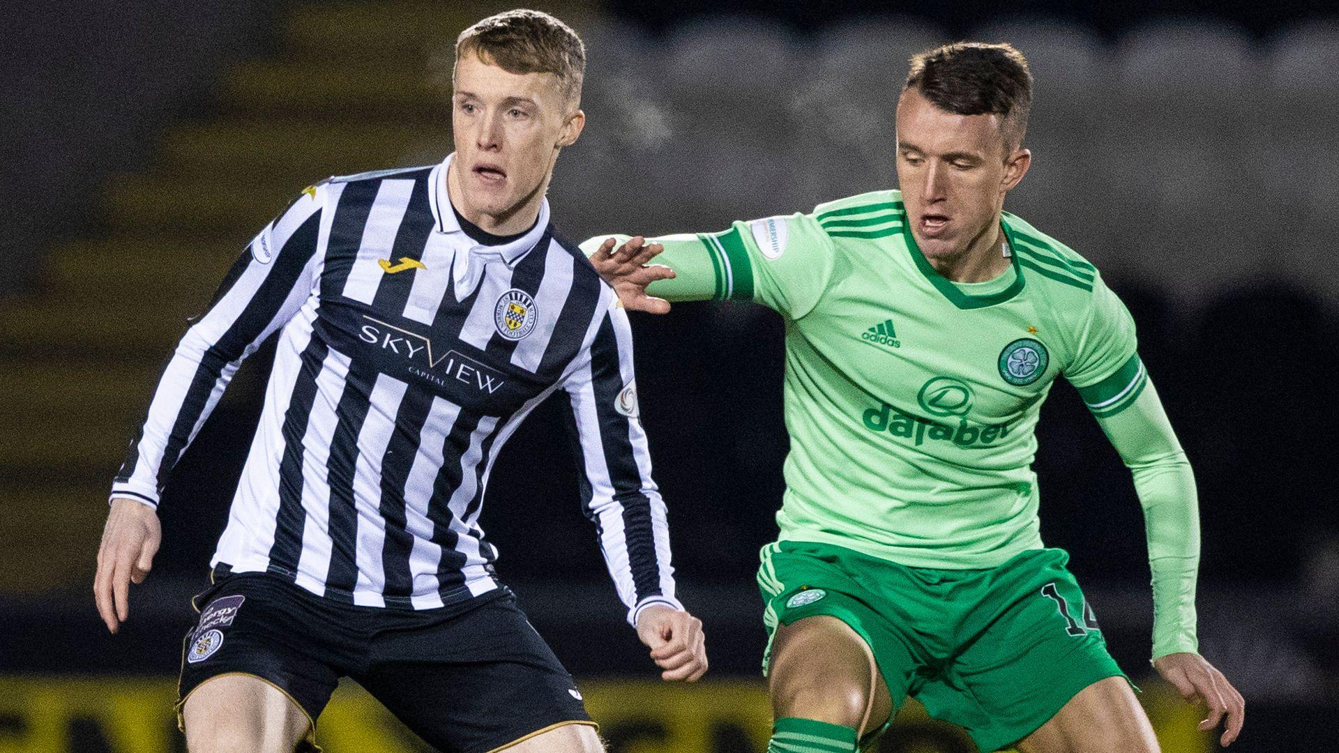 Scottish Premiership: Celtic lead at St Mirren LIVE!
