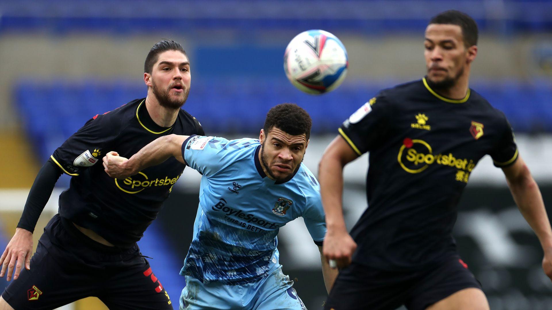 Below-par Watford held by Coventry