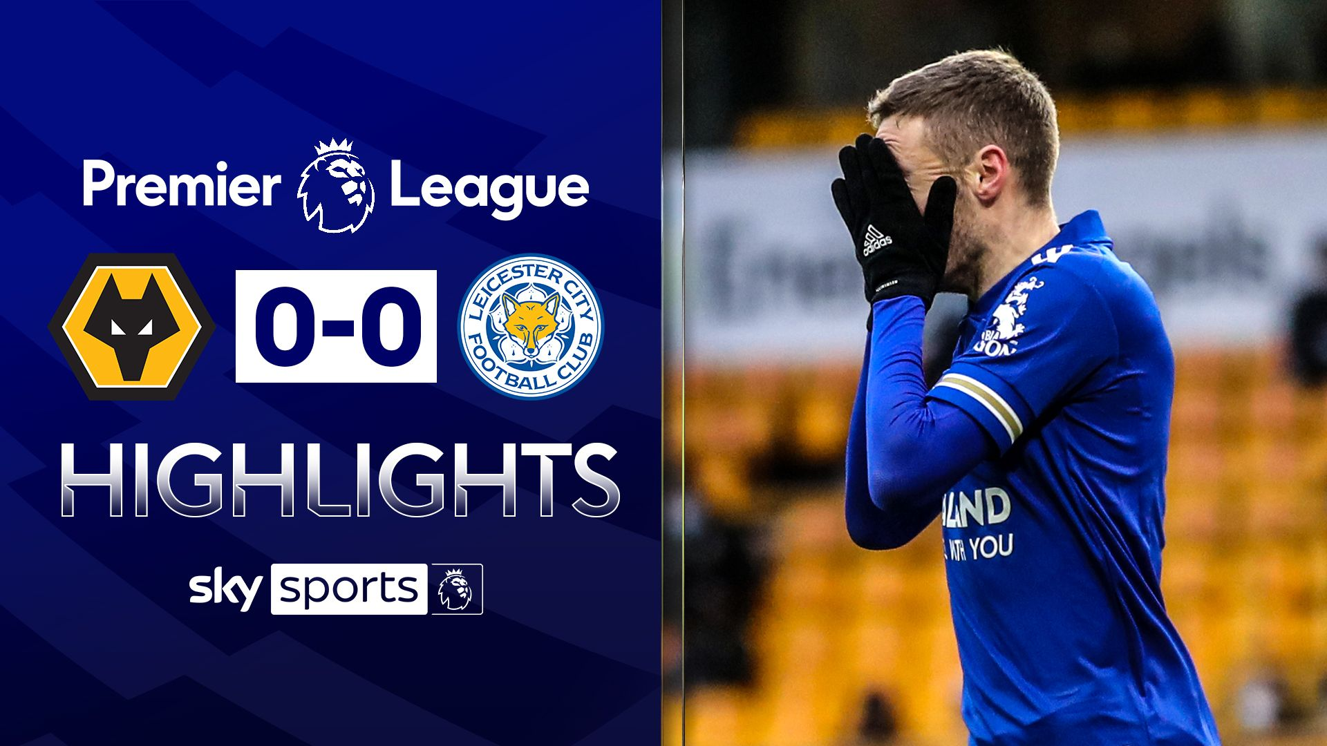 Leicester held after late Vardy miss