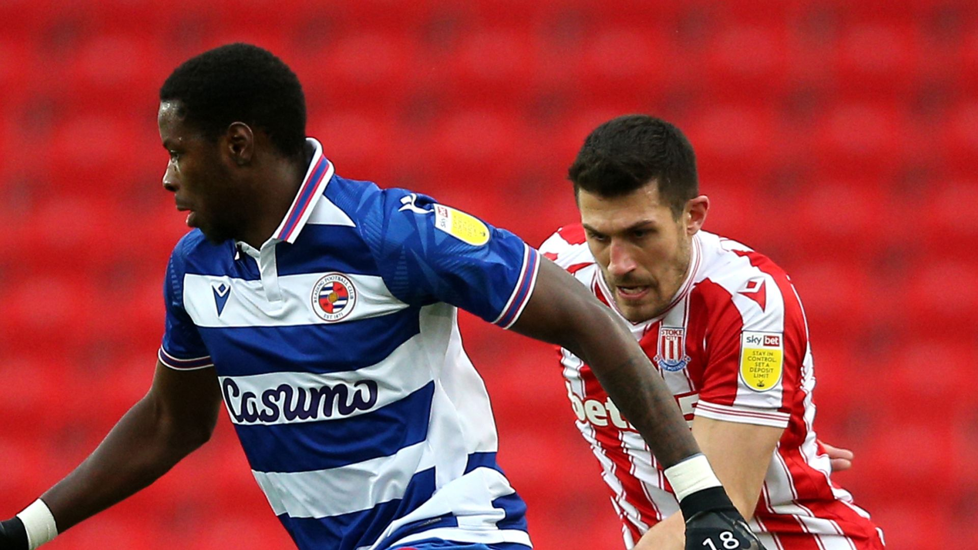 Stoke and Reading play out goalless draw