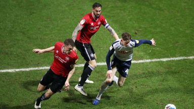 Preston and QPR played out a goalless draw on Wednesday night