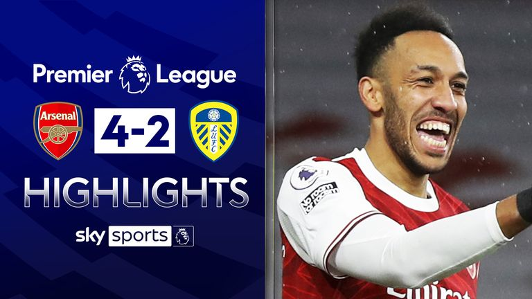 FREE TO WATCH: Highlights from Arsenal's win against Leeds in the Premier League