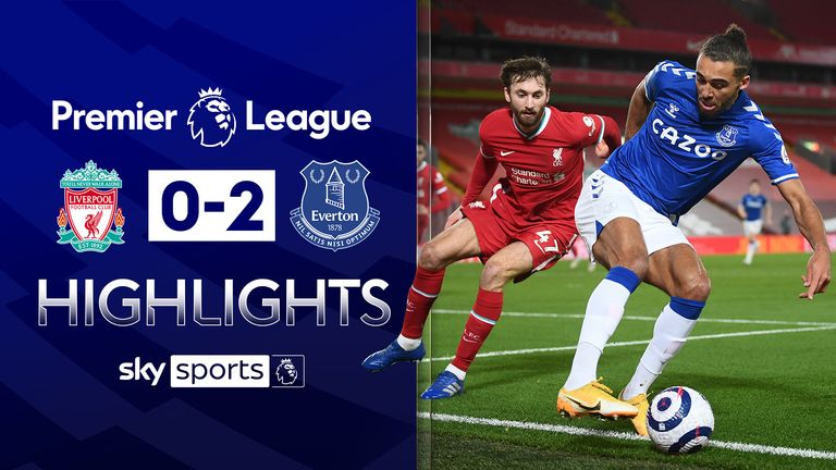 FREE TO WATCH: Highlights from Everton's win over Liverpool