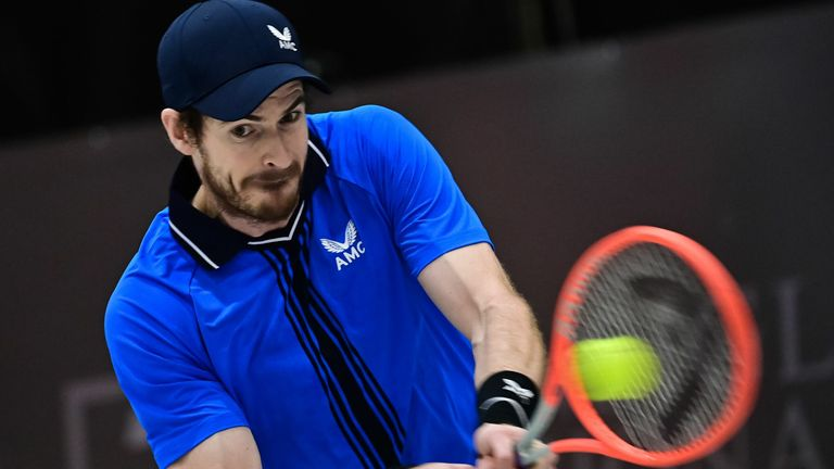 Andy Murray was only able to play seven official matches in 2020
