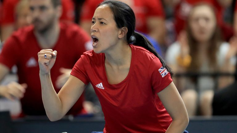 Anne Keothavong's Great Britain team will be strong favourites to make it through to the qualifying round for the Billie Jean King Cup 12-team finals event in 2022
