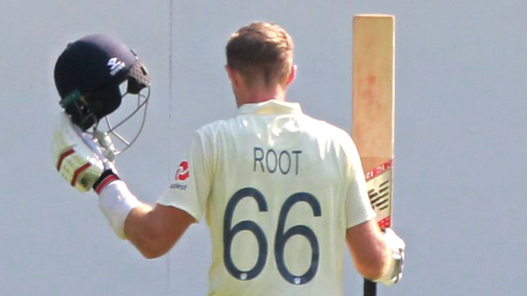 Root departed after becoming the first player since Kumar Sangakkara in 2007 to make scores of 180-plus in three straight Test matches (Credit: BCCI)