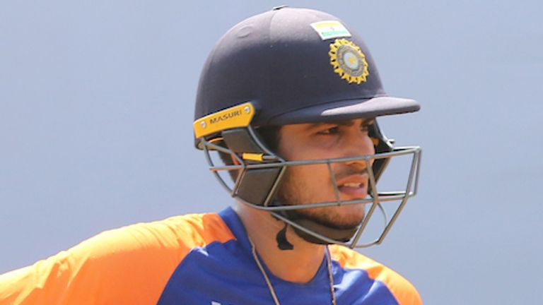 Shubman Gill has been passed fit after taking a blow to the forearm in the field in Chennai (Pic credit: BCCI)