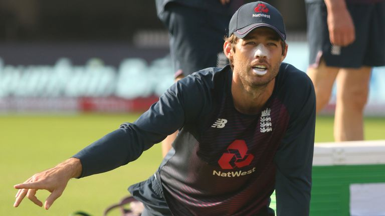 England wicketkeeper Ben Foakes claimed three stumpings in a Test in which he celebrated his 28th birthday (Pic credit - BCCI)