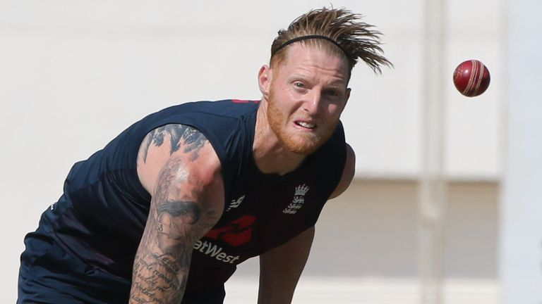 Root says Ben Stokes (pictured) is a real leader in the England team (Pic credit - BCCI)