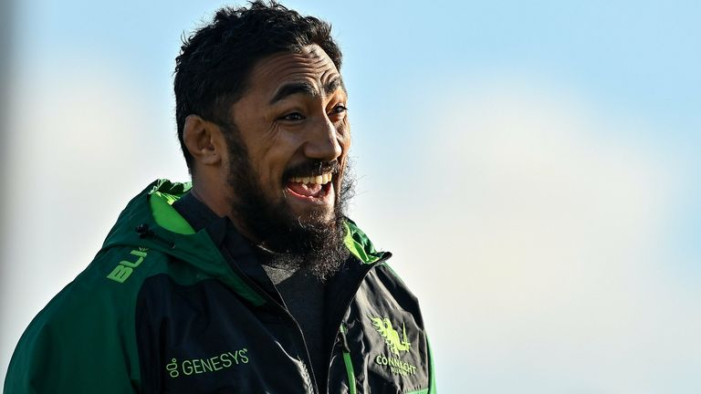 Bundee Aki played in all but one of Ireland's 2020 fixtures
