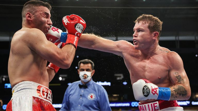 Canelo battered Yildirim for the entirety of the fight