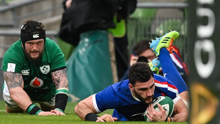 Ireland have scored two tries and conceded four in their opening two Six Nations matches