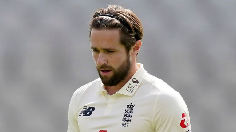 Chris Woakes has returned home without featuring in England's Test series in India