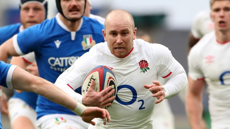 Robson has been a replacement in England's first two Six Nations games