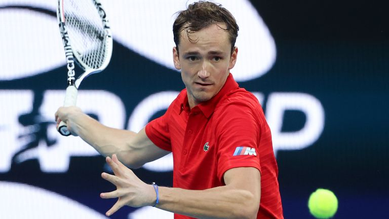 Daniil Medvedev ended 2020 by winning the ATP Finals