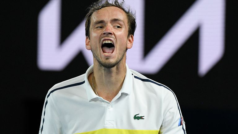 Daniil Medvedev is already a US Open and Australian Open finalist and he will fancy his chances of reaching another Grand Slam final in Paris