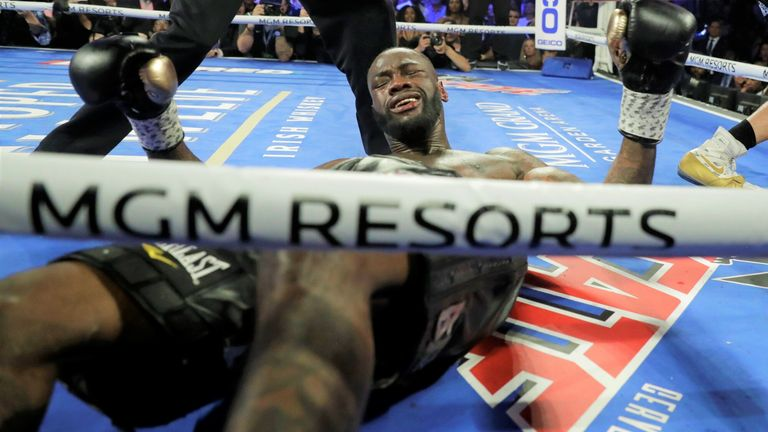 The American was stopped by Fury in the seventh round in Las Vegas