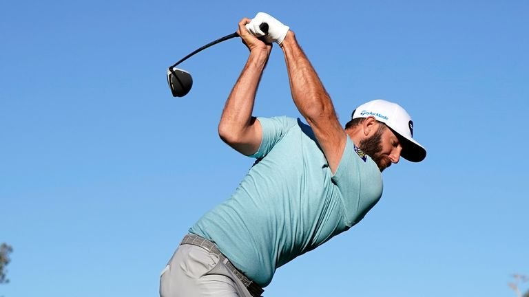 Dustin Johnson won by five strokes at Riviera in 2017