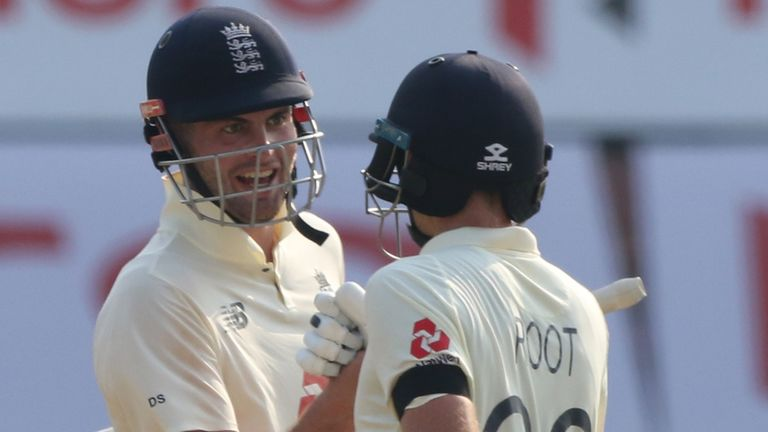 Sibley and Joe Root put on 200 for the second wicket before the former was out lbw to Jasprit Bumrah (Pic credit: BCCI)