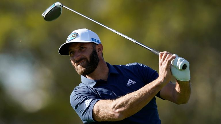 Dustin Johnson was a four-time winner on the PGA Tour in 2020