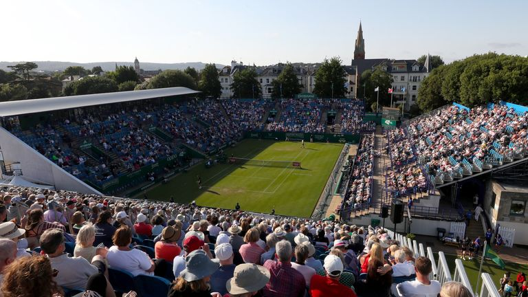 Eastbourne will host a combined tournament from June 19.