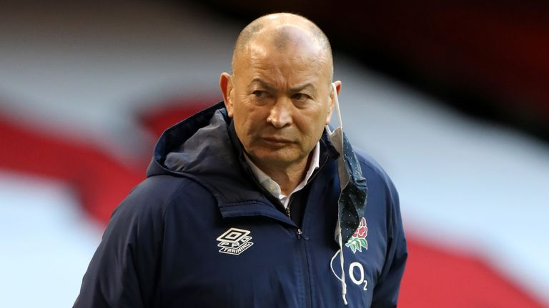 Eddie Jones' side have lost at home to Scotland and away to Wales already in this championship
