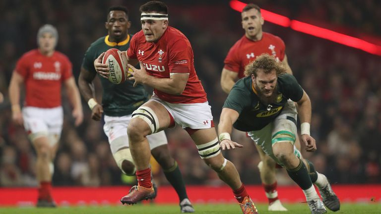 Ellis Jenkins last played for Wales against South Africa in November 2018