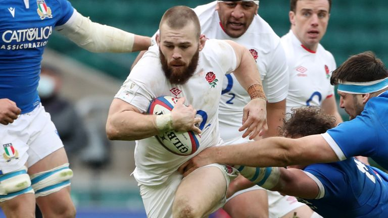 Luke Cowan-Dickie has also been brought in for England, replacing British and Irish Lion Jamie George