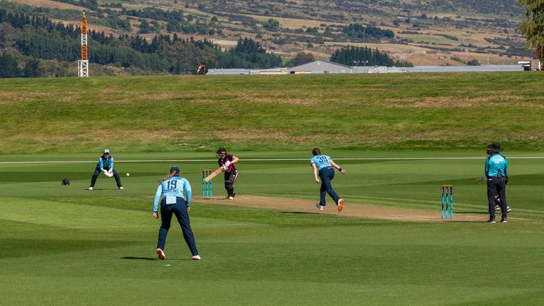 Queenstown was the picturesque setting for the game