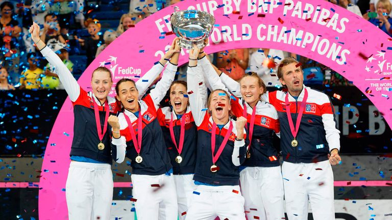 France are the reigning Billie Jean King Cup (formerly known as Fed Cup) champions