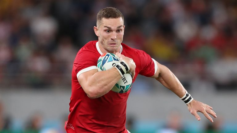 George North is will start at centre for Wales on Sunday